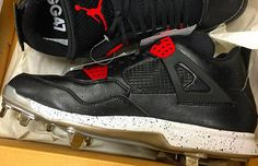 46052fef4b18 Jordan Brand Hooked Gio Gonzalez up With PE Air Jordan Cleats for Opening  Day