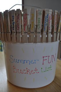 Bucket List! Write 30 things on pegs like this or on pieces of paper and put them in a bucket. Randomly pull one out over the course of the year until all are accomplished! For a gift I'd add a bunch of things in the bucket to help towards the bucket list ideas, such as vouchers , tickets, money, etc.