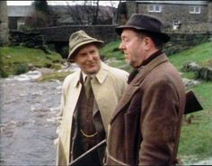 Alarms & Excursions (1980) Great Gill, West Scrafton, Coverdale, North Yorkshire - Siegfried gives a local farmer some sound advice.