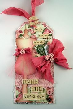 Suzz's Stamping Spot: Untie the Ribbons http://www.suzzstampingspot.blogspot.com/2013/11/untie-ribbons.html