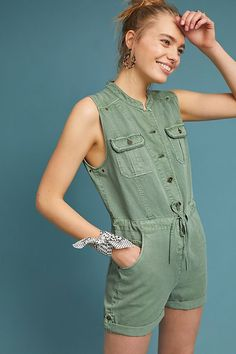 Slide View: 1: Utility-Playsuit
