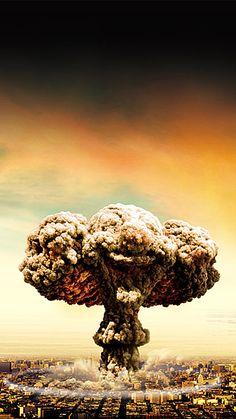 Bomba nube de hongo de fondo Fallout Posters, Beirut Explosion, Monte Fuji, Pop Art Images, Peace Poster, Desenho Tattoo, Science Fiction Art, Dragon Art, Moon Art