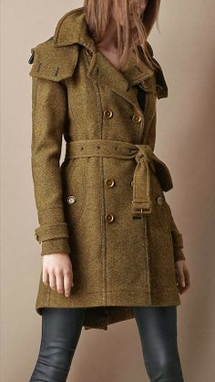 Apparel I Like on Pinterest | Burberry Pea Coat and Trench Coats