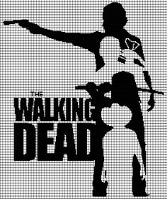 The Walking Dead (Graph AND Row-by-Row Written Crochet Instructions) – 06