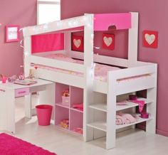 kinderzimmermöbel, mädchenzimmer | ideen | pinterest - Kinderzimmermobel Ideen Hochbetten