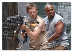The Walking Dead  - T-Dog and Daryl