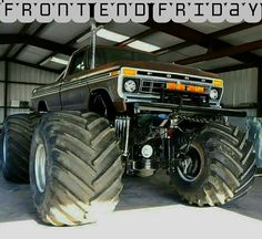 King Kong, Cool Cars, Old School, 4x4, Monster Trucks, Ford, Vehicles, Nice Cars, Rolling Stock