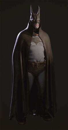 Based on a concept by Belov Pavel Batman And Batgirl, Im Batman, Batman Robin, Game Character Design, Character Design Inspiration, Comic Character, Comic Books Art, Comic Art, Batman Redesign