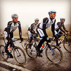 Here's @teamgiantshimano trying out the Yorkshire roads in readiness for this July!