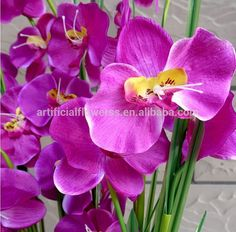 High quality - Real touch #orchids http://artificialflowerss.en.alibaba.com/product/60169102324-800533512/high_quality_purple_real_touch_artificial_orchid_flowers.html
