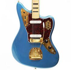 Vintage 1966 Fender Jaguar electric guitar.