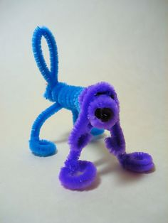 Pipe cleaner dog