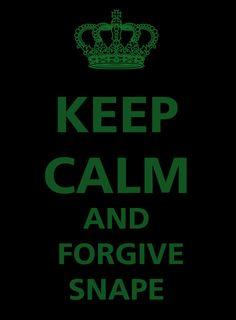 forgive snape