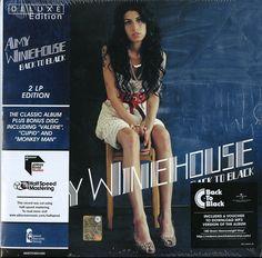 WINEHOUSE AMY - BACK TO BLACK DELUXE EDITION 2 LP VINILE NUOVO SIGILLATOClicca qui per acquistarlo sul nostro store http://ebay.eu/2glyvBr