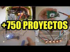 PROYECTOS ELECTRONICOS FACILES DE HACER 750 PROYECTOS - YouTube