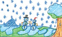 WEDNESDAY'S WEATHER: Partly sunny, high of 29. Kendra Brown, age 10, of St. Regis drew today's weather picture. Weather art from Montana kids runs every day in the Missoulian