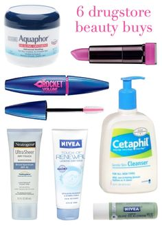 6 drugstore beauty buys (all under $12!).