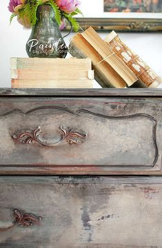 Creating An Old World Furniture Finish - Seaglass - Because of her size, this french provincial dresser gave me a really good workout – but I loved e - Old World Furniture, French Furniture, Shabby Chic Furniture, Vintage Furniture, Furniture Stores, Rustic Furniture, Modern Furniture, Furniture Online, Outdoor Furniture