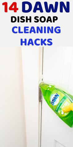Household Cleaning Tips, Household Cleaners, Diy Cleaners, House Cleaning Tips, Cleaning Hacks, Green Cleaning Recipes, Natural Cleaning Recipes, Natural Cleaning Products, Dawn Dish Soap