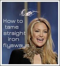 How To Tame Straight Iron Flyaways