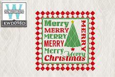 Christmas Cutting File KWD098D from DesignBundles.net