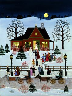 A Time of Good Cheer ~ The Family Christmas Party by Jane Wooster Scott
