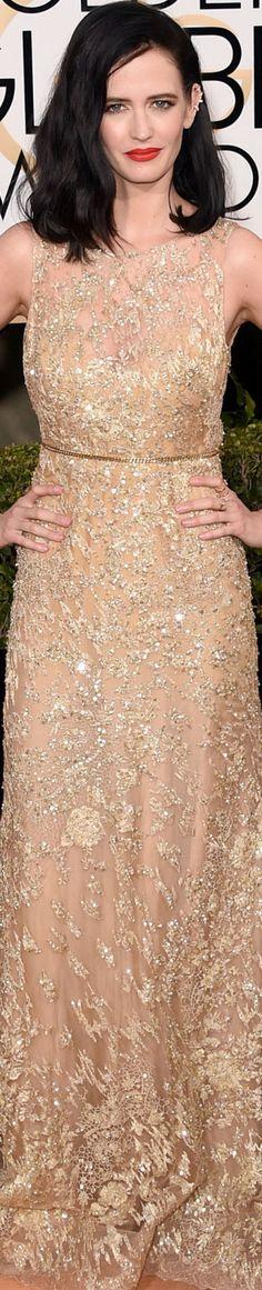 73rd Annual Golden Globe Awards Red Carpet 2016 wearing Ellie Saab. ♛  ♛~✿Ophelia Ryan ✿~♛