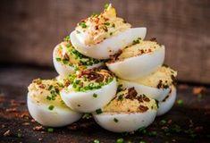 Smoked Deviled Eggs Recipe, Smoked Eggs, Traeger Recipes, Grilling Recipes, Catering Recipes, Catering Ideas, Tapas, Pellet Grill Recipes, Smoke Grill