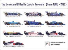 Osella F1 cars