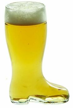 1 Liter Glass Beer Boot