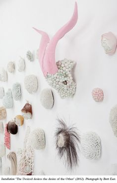 Juz Kitson - recently saw her work at the MCA Primavera exhibition. Beautiful and disgusting/