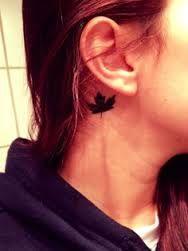 maple leaf tattoo wrist - Google Search