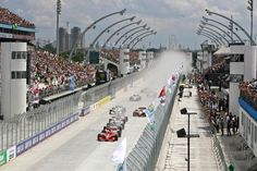 Programação da Formula Indy para o GP de SãoPaulo
