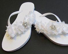 a18a6777c0fe This item is unavailable Bride Flip Flops