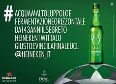 Why Heineken Put This Ridiculously Long Hashtag on Hundreds of Billboards in Milan