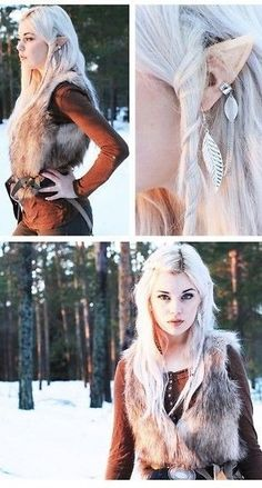wood elf style <3 More