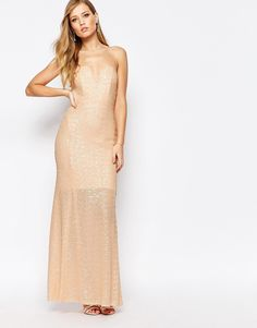 TFNC Showstopper Sequin Maxi Dress - love this for bridal party