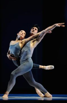 Frances Chung and Davit Karapetyan n in Tomasson's The Fifth Season. Photo: © Erik Tomasson