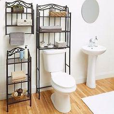 Bathroom Cabinet Over The Toilet Storage Rack Space Saver Shelf Organizer Bronze | eBay Where can I buy this in Australia?
