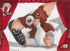 It´s Gizmo- he is a Mogwai. Interests: TV, Sing, looking cute. His succeses: Gremlins, Gremlins 2 Comments are welcome Gizmo Gremlins, Deviantart, Fantasy, Cute, Fictional Characters, Kawaii, Fantasy Books, Fantasy Characters, Fantasia