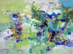 Buy Island Flowers 1, a Oil on Canvas by Changsoon Oh from United States. It portrays: Beach, relevant to: beach, summer beach, Sands Peoples Parasol, flowers, island Island Flowers 1, summer beach surrounded wild flowers.