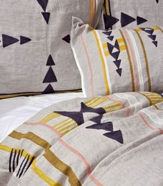 Isleta Duvet Cover - Wishlisted, but already sold out! #Anthropologie #PinToWin