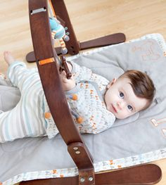 If I had $135 bucks to blow, this would replace the standard baby play mat.