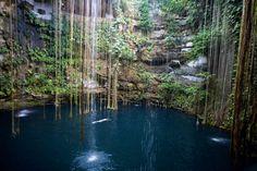 Playa del Carmen: Una de las atracciones de la Riviera Maya son los cenotes, una línea de túneles subacuáticos que tienen miles de años. Cerca de Playa del Carmen pueden visitarse los de Kantun-Chi y Río Secreto a sólo 10 minutos. Bucear en las cuevas, nadar en las grutas y explorar las formaciones rocosas es una experiencia imperdible.