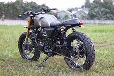 Sexta Insana: Ninja 250 Tracker by Studio Motor | Garagem Cafe Racer