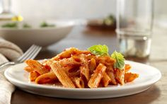 Penne arabiatta. Love the spicy tomato flavor. A favorite dish introduced to me in italy.