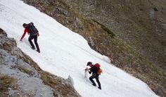 Hard en tough; 10 hours of hiking, scrambling and climbing