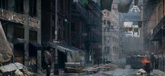 Post-apocalyptic Boston - The Last of US ---- speedvore: The Last of Us Concept Art | animation news + art