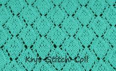 Knitting Stitches Collection: Stitch No. 24