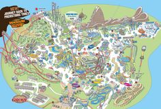 Park Map | Carowinds, Charlotte NC